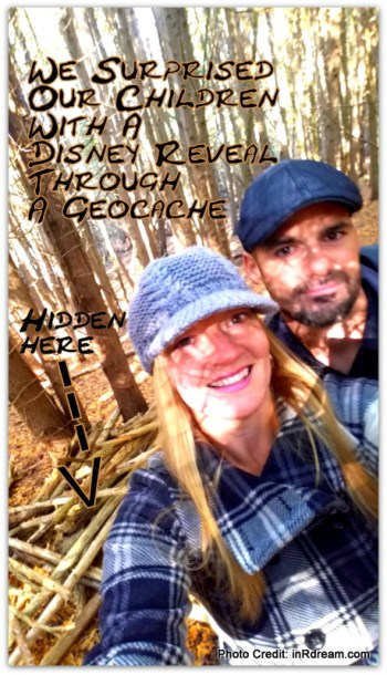Disney Reveal, Geocaching