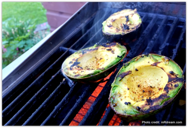 BBQ Avocado, Avocados from Mexico, Grilling Avocados, Grilled Avocado and Flank Steak Sandwich, Love Avocados, Health benefits of Avocados