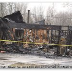 Fire in Kawartha Lakes, Family Fire in Ops Twp. Kawartha Lakes This Week Photo