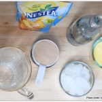 Sparkling Pineapple Nestea Lemon Iced tea recipe, Sparkling Pineapple Nestea Lemon Iced tea , Nestea Lemon Iced tea, Stir Things Up, Nestle Recipe, Sparkling Ice Tea recipe, Ice tea with a twist