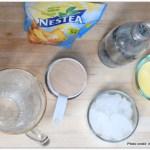 Sparkling Pineapple Nestea Lemon Iced tea recipe, Sparkling Pineapple Nestea Lemon Iced tea , Nestea Lemon Iced tea, Stir Things Up, Nestle Recipe, Sparkling Ice Tea recipe, Ice tea with a twist