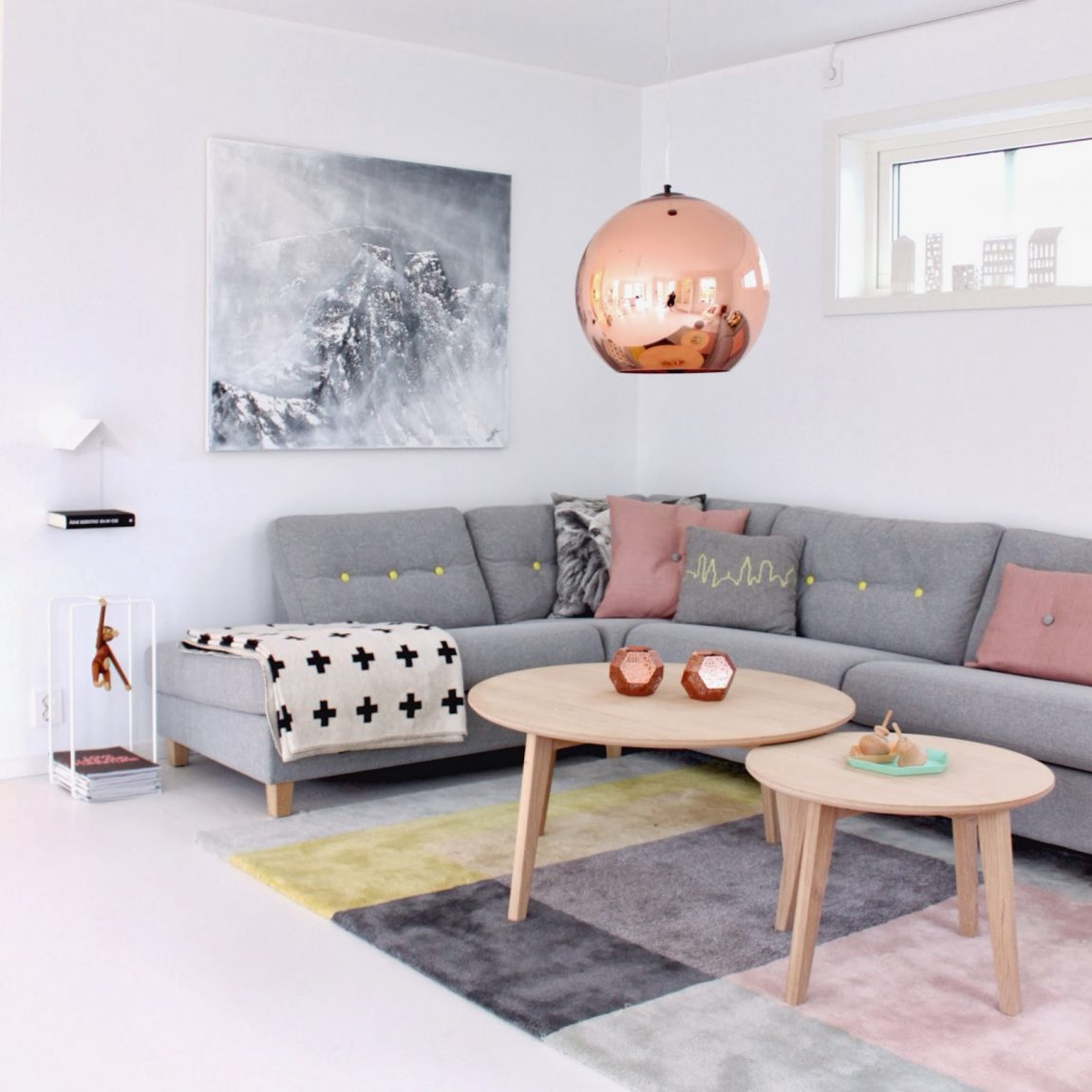 Grote Hanglamp Bol Tom Dixon Copper Round Hanglamp | Inrichting-huis.com