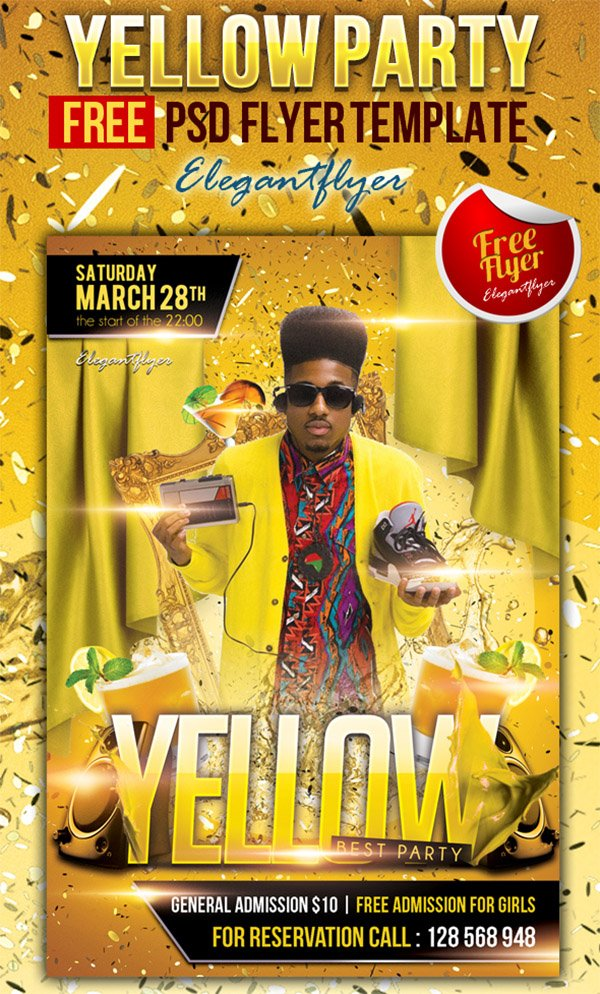 31 Free Party  Club Flyer Templates