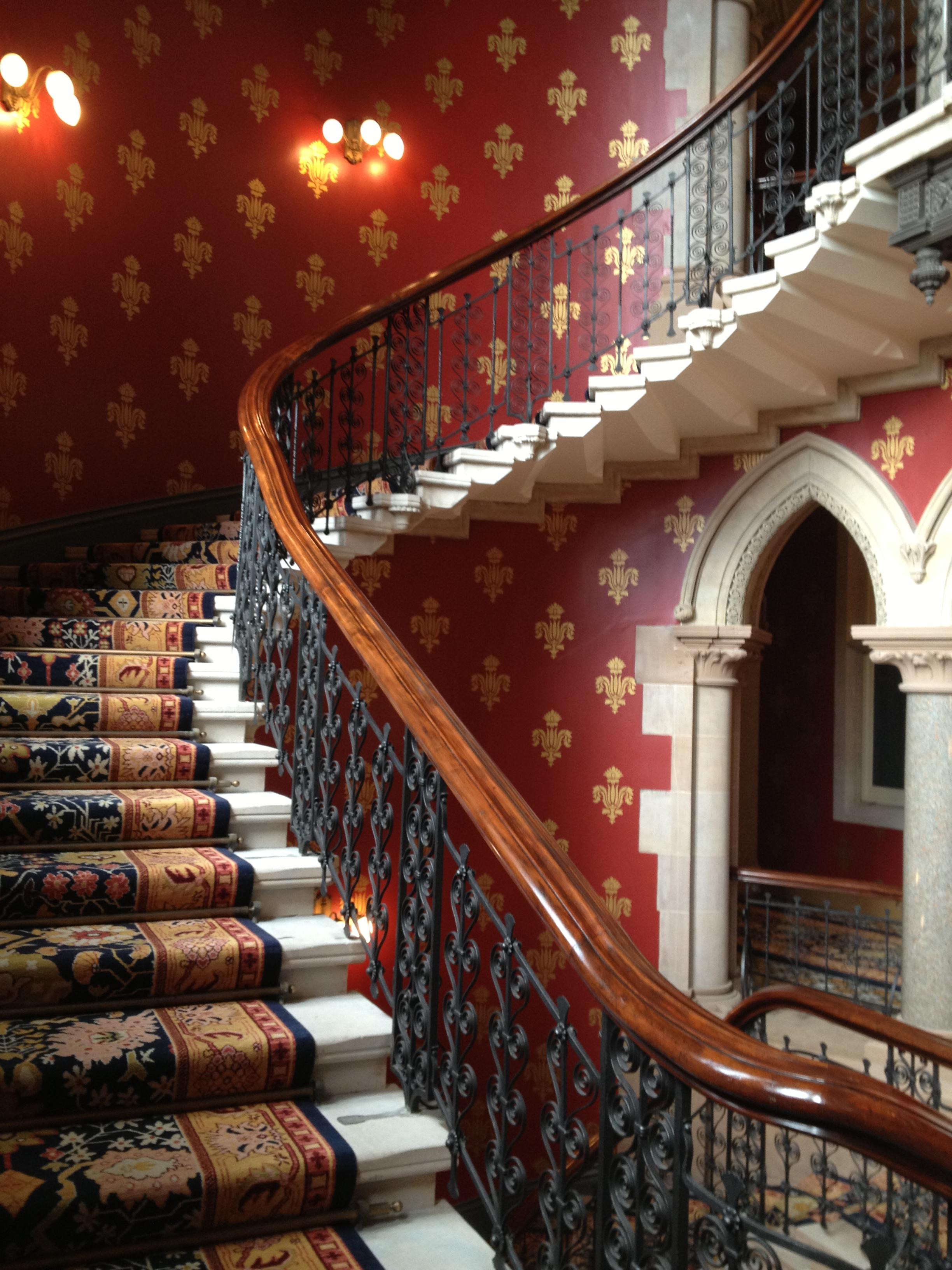 Grand Staircases of London #2 (St. Pancras Renaissance