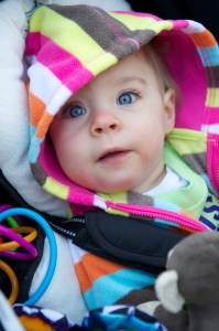 Bekah at the Akron Zoo for the 2012 Walk for Babies to benefit Akron Children's NICU