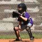 baseball catcher girl