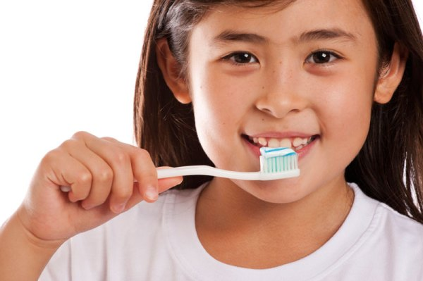 Children and teens with diabetes are at greater risk for gum disease.