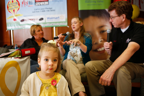 Bekah's story was featured on Akron Children's Miracles and Promises Radiothon in September.
