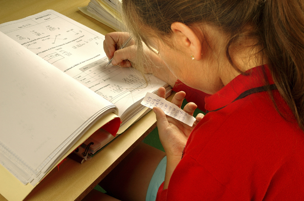 girl-at-school-cheating