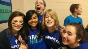 Maddie Meszaros and her friends