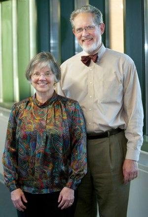 Drs. Margaret and John McBride.