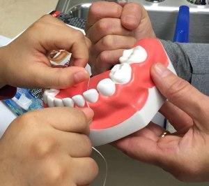 Bright, healthy smiles are dream of volunteer dental hygienist
