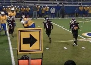 Jayden's touchdown