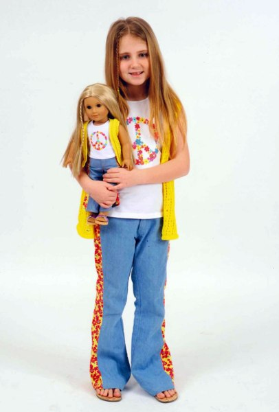 One local girl models for a cause at American Girl Fashion Show