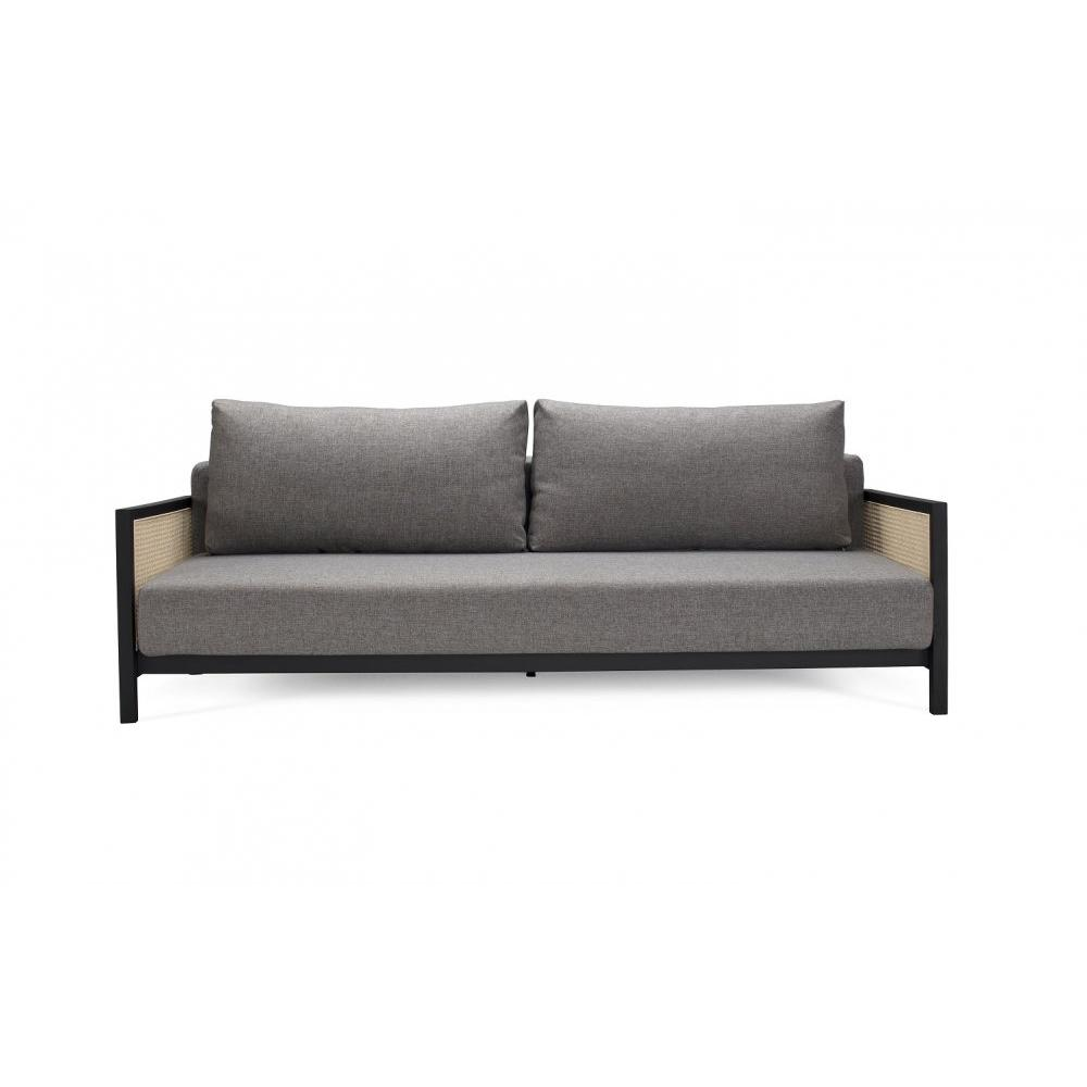 Canapé Convertible Au Meilleur Prix Innovation Living Canapé Design Art Deco Narvi Convertible Lit 200 140 Cm Tissu Mixed Dance Grey Inside75