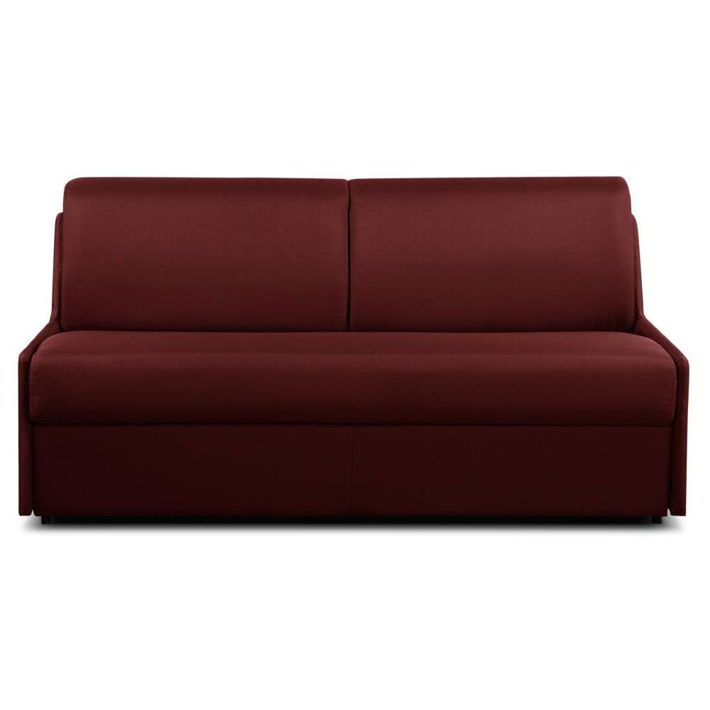 Canapes Convertibles Express Canape D 39angle Cuir Rouge Bordeaux