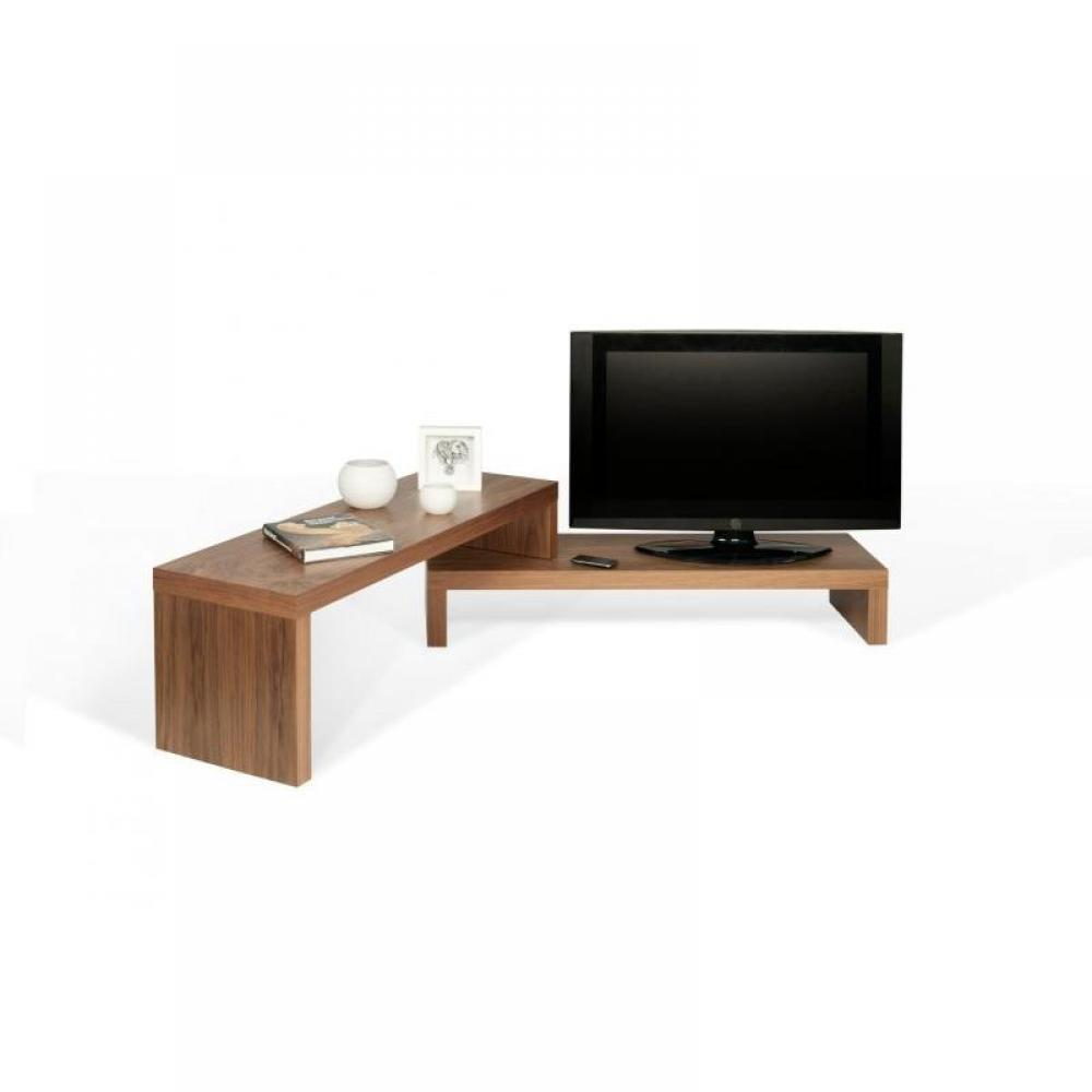 Meuble Tv Modulable But Cliff 120 Meuble Tv Modulable En Noyer