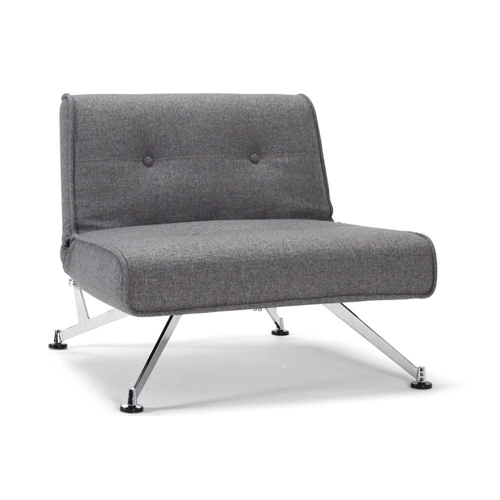 Fauteuil Convertible Design Innovation Living Fauteuil Lit Design Clubber Gris Convertible 113 115cm