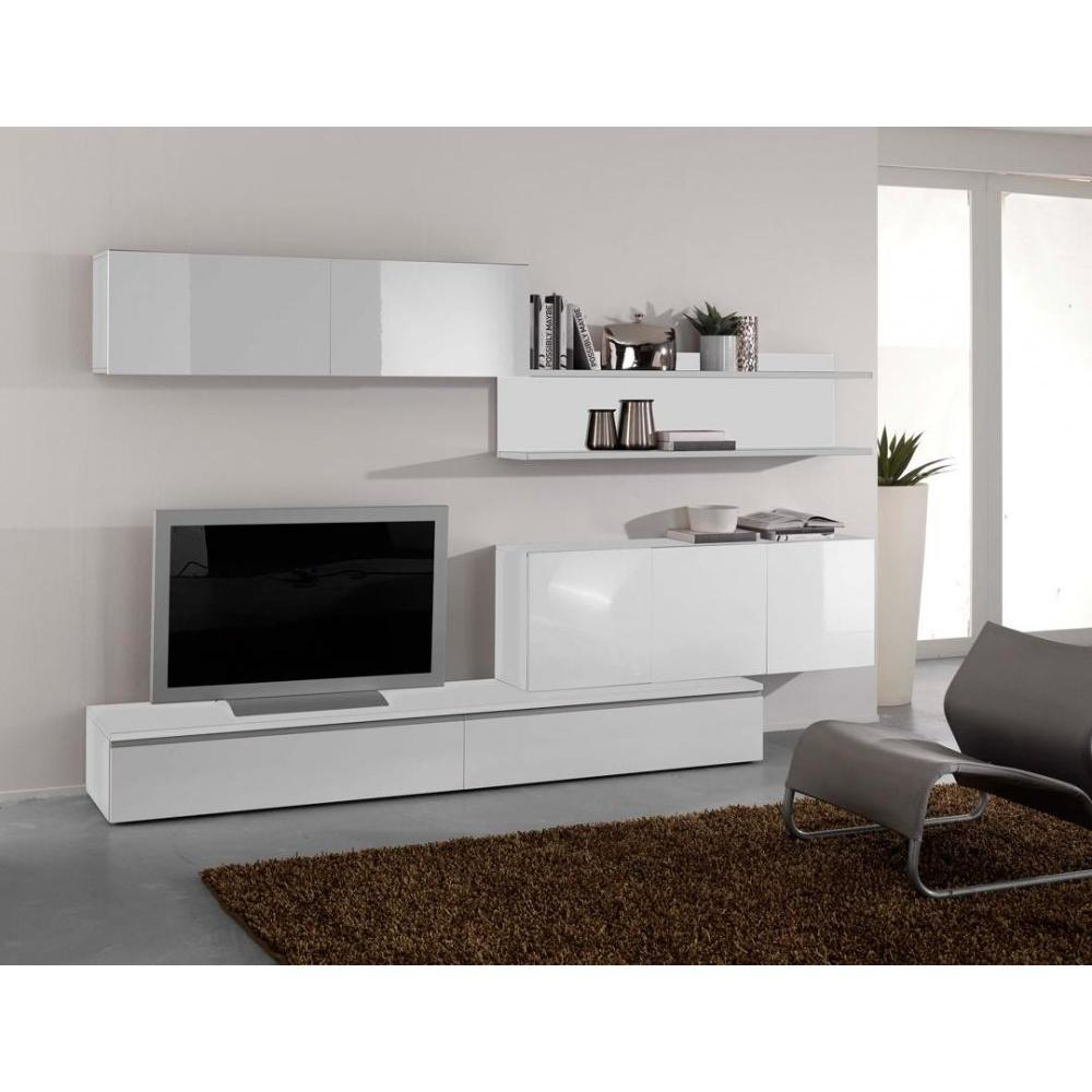 Composition Meuble Tv Design Composition Murale Tv Design Forte Blanche