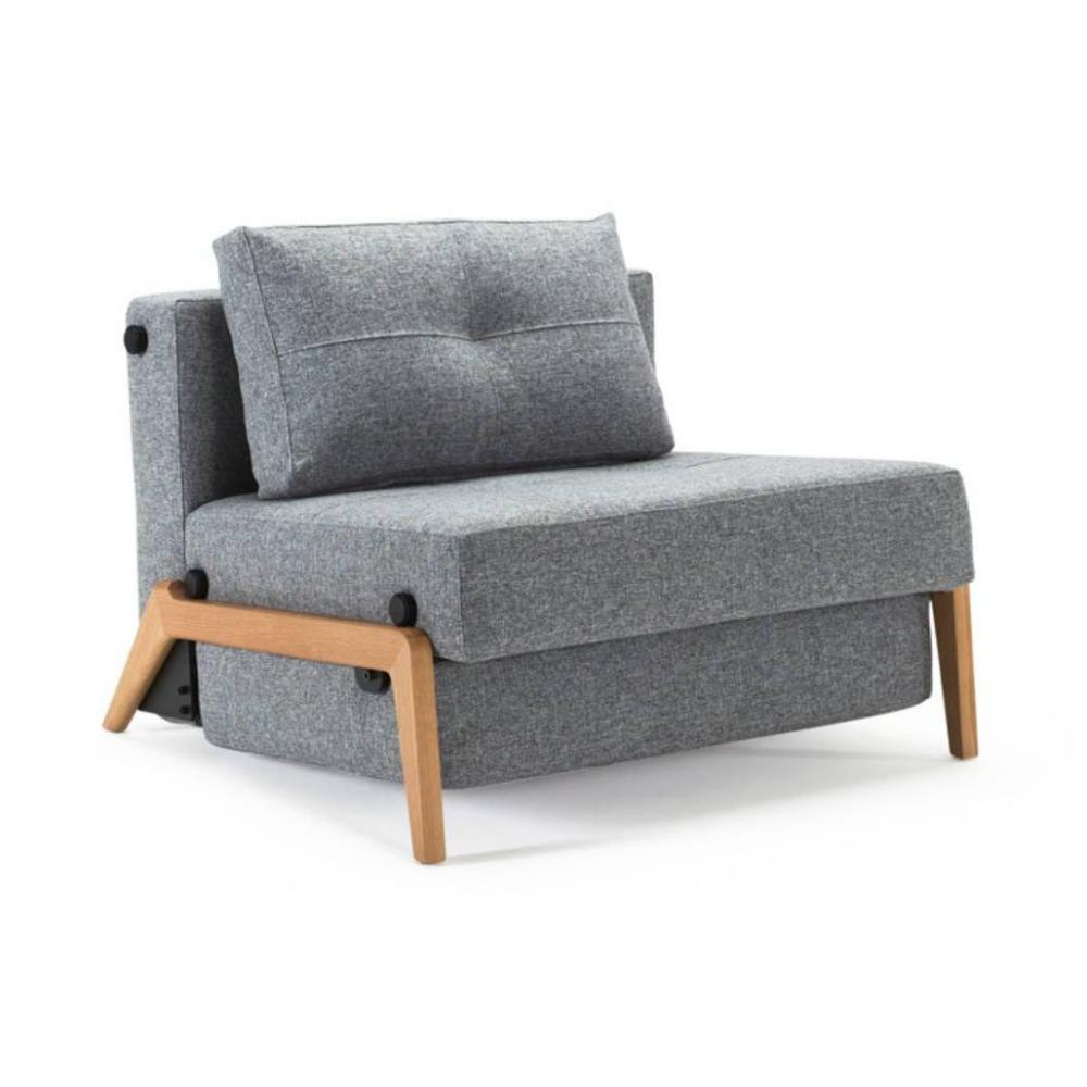 Fauteuil Convertible Design Fauteuil Design Sofabed Cubed 02 Wood Twist Granite Convertible Lit 200 90 Cm