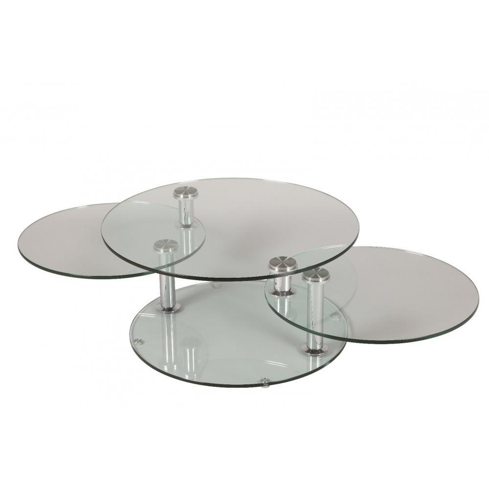 Table Basse Ronde Design Table Basse Design Level Ronde Double Plateaux