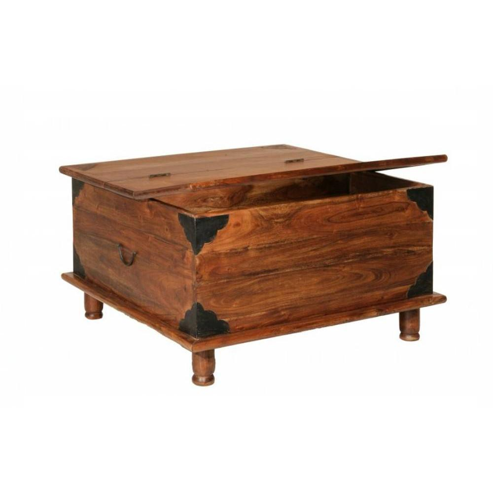 Table Basse Coffre Bois Table Basse Coffre Adam En Bois Acacia Style Colonial