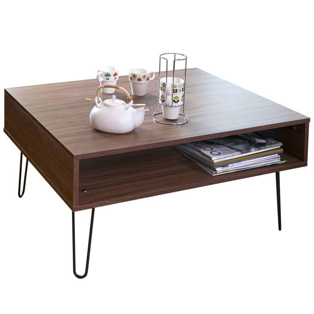 Recherche Table De Salon Table Basse Design Scandinave Lackberg Noyer