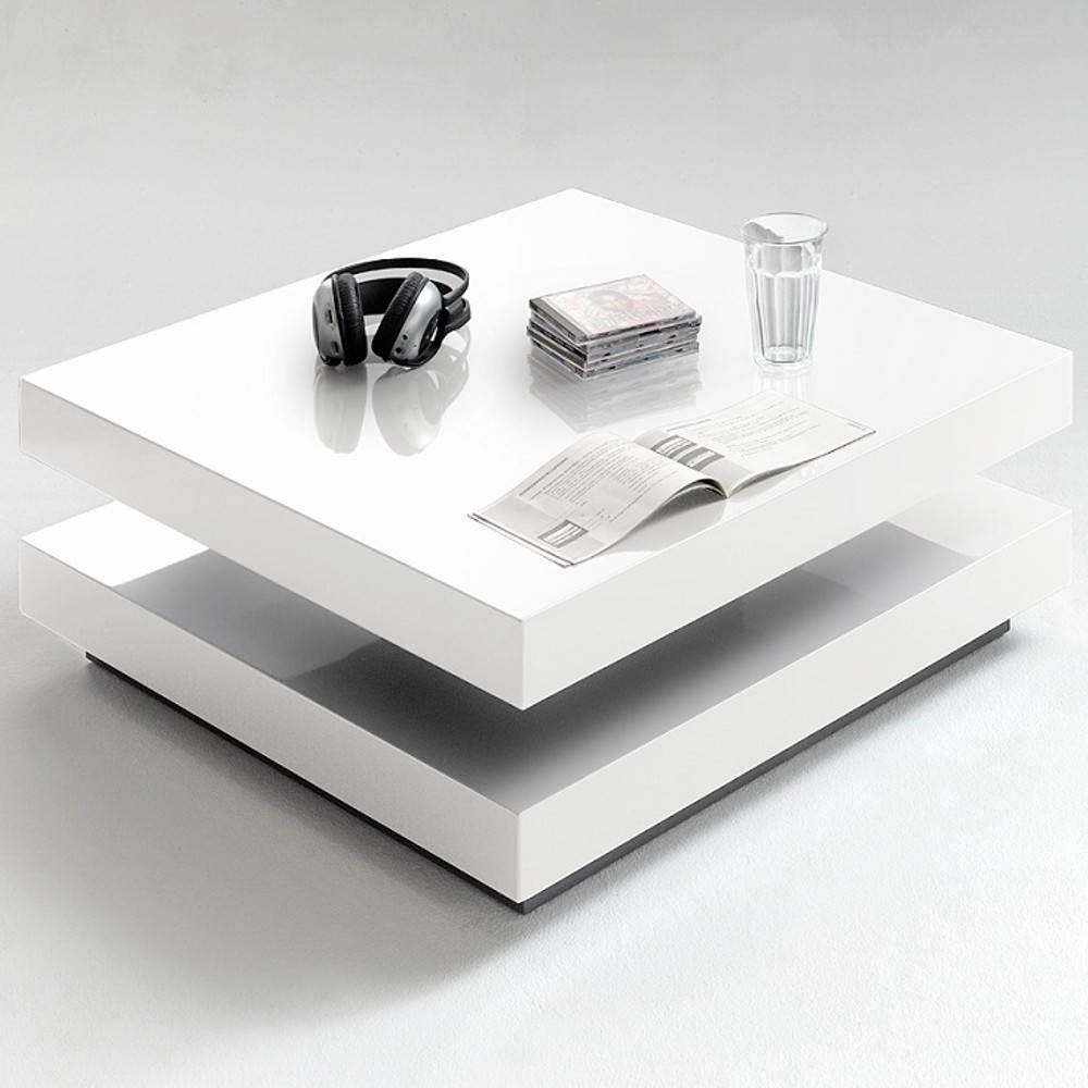 Table Basse Design Blanche Table Basse Design Hubic Blanche Mate