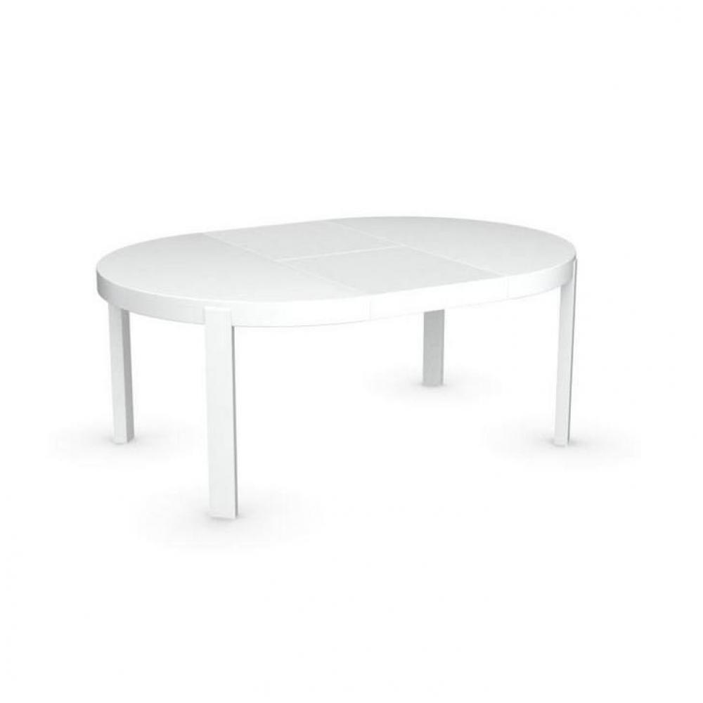 Table Repas Extensible Table Ronde Blanche Extensible
