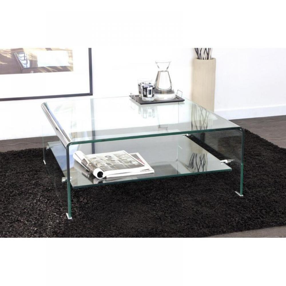 Table Basse Carrée Verre Tables Basses, Tables Et Chaises, Wave Table Basse Carrée