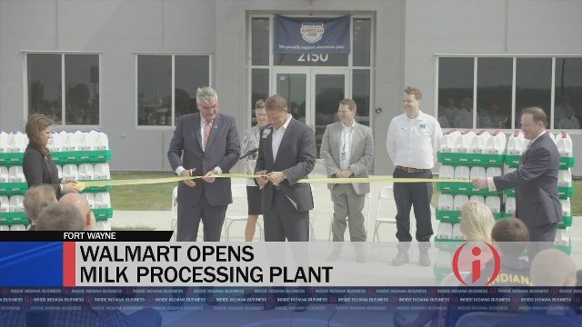 Walmart Opens One-of-a-Kind Milk Processing Plant - Inside INdiana