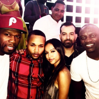 Karrueche Has Friends In High and Low Places