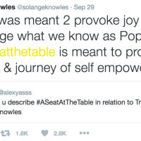 """Always Remember: We Have """"A Seat At The Table"""" (Solange)"""