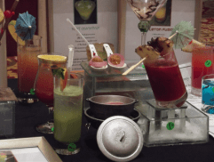 Selection of drinks