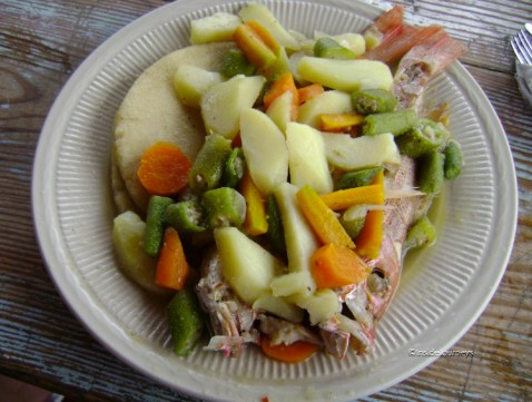 FoodieTuesday Steamed fish with vegetables