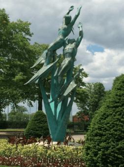 Sculptures at the New York World's Fair