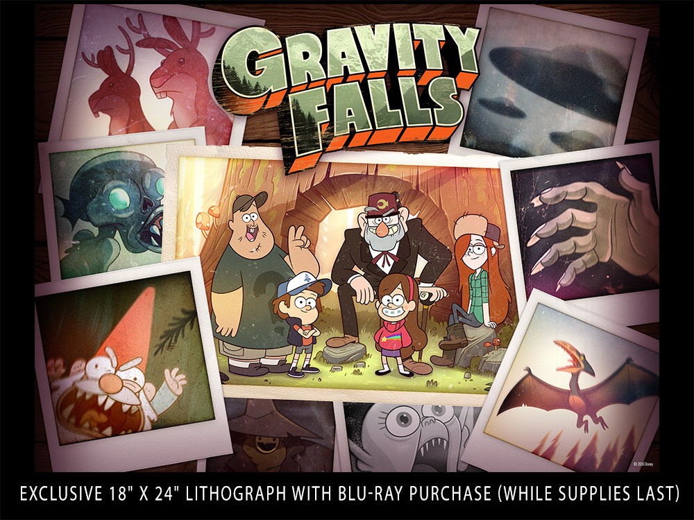 Gravity Falls Phone Wallpaper Blu Ray Review Gravity Falls The Complete Series