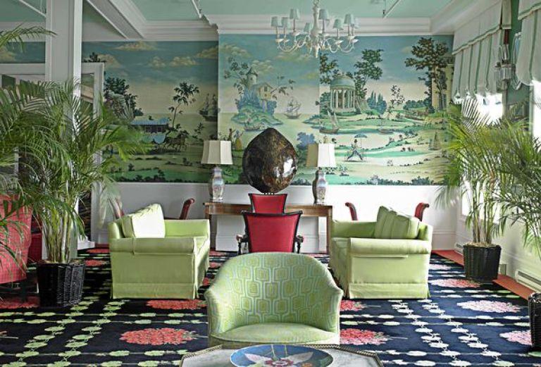 interior design LA times