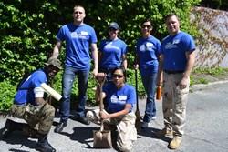 Bravo Service Project participants