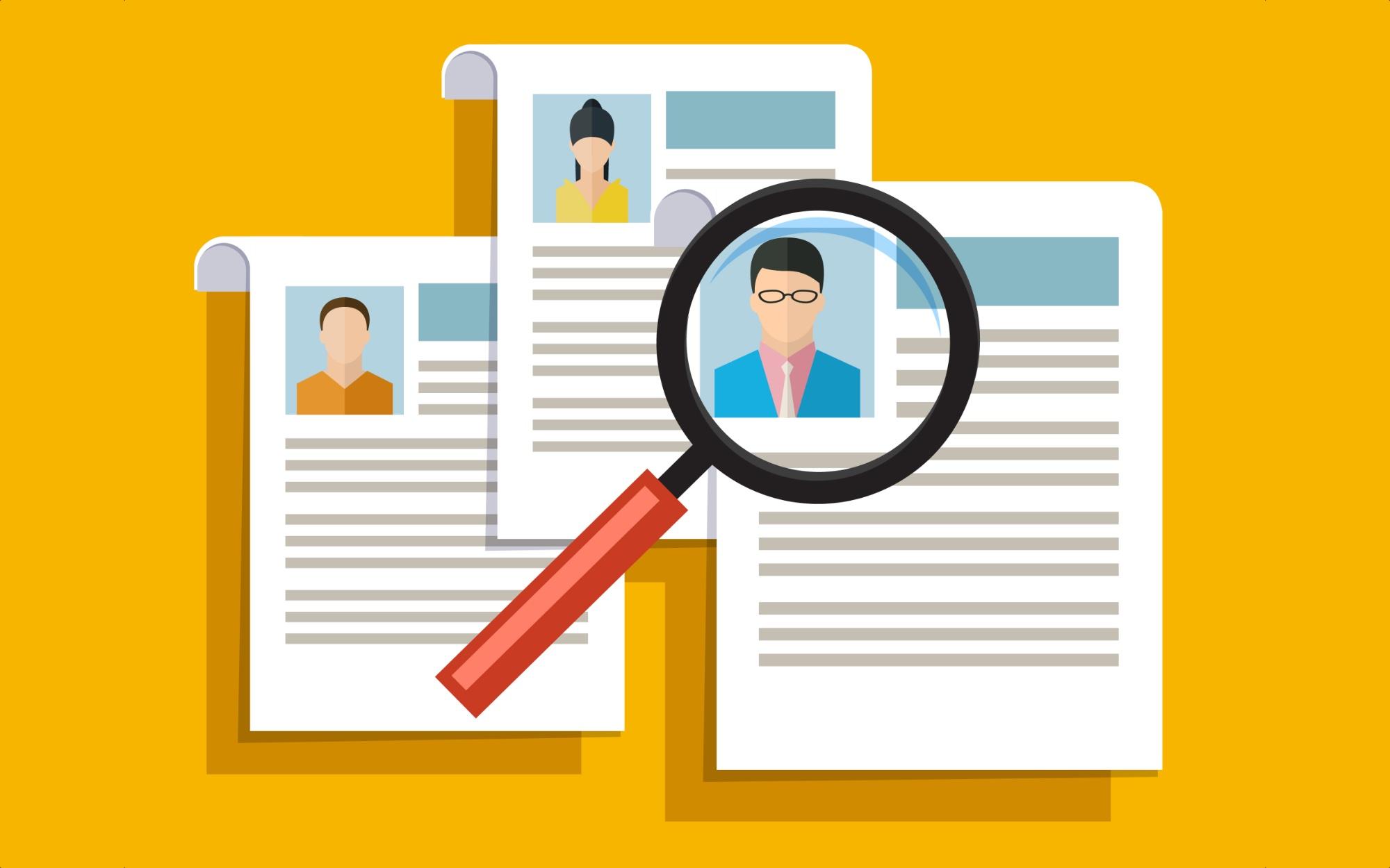 resume app in java