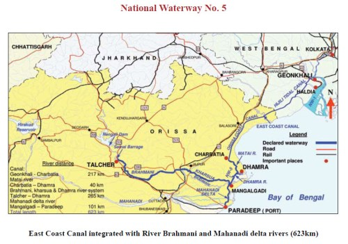 National Waterway of India -5