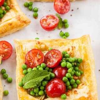 Artichoke and feta tarts – DHSP challenge #7