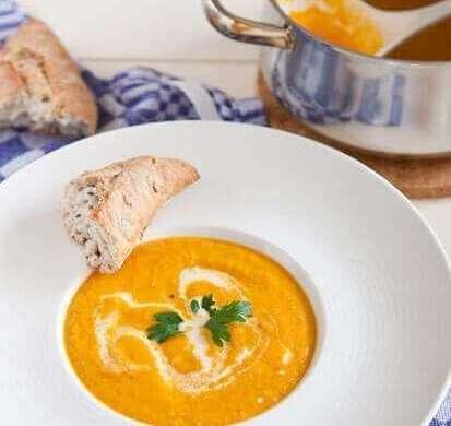 Carrot soup | insimoneskitchen.com