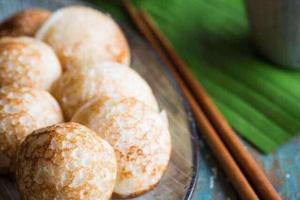 Asian small pancakes | insimoneskitchen.com