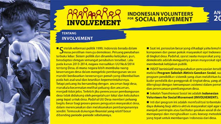 INVOLVEMENT Angkatan VIII/2015
