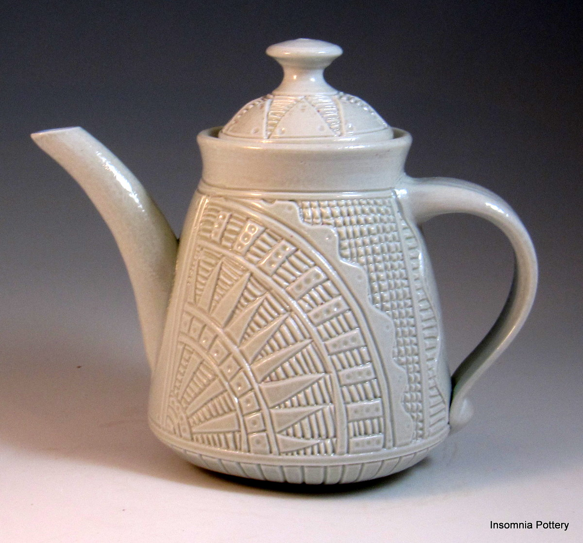 Making Tea In A Teapot Making White Salt Fired Porcelain Insomnia Pottery