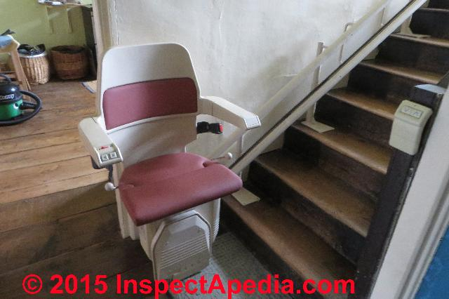 Stairway Chair Lifts Building Codes Standards Dimensions