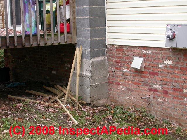 Cracked Concrete Block Chimneys Diagnosis Repair Guide