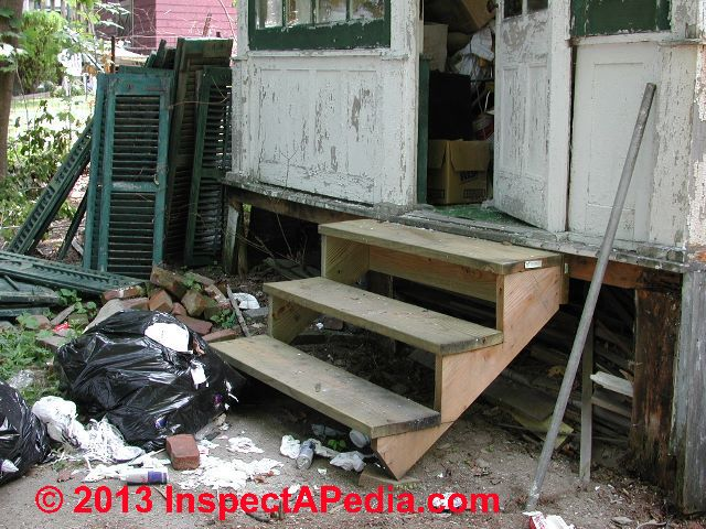 How To Build Deck Or Porch Stairs How To Layout Cut The