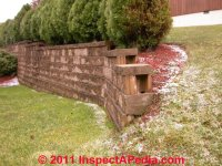 Retaining Wall Guardrails, Requirements for guardrailings ...